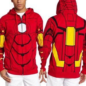MAD Engine Marvel Iron Man Hoodie Sz S